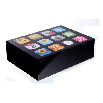 17-33670, Holz Box