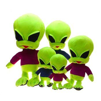 10-10018, Plüsch Alien, stehend, 80 cm, Kuscheltier, Zootier, Wildtier, Grossplüsch, Großplüsch