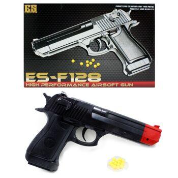 27-60288, Softair Pistole, Kugelpistole mit Magazin, mit Munition