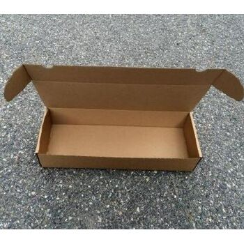 Versandkarton gestanzt 1-wellig Innenmaße 330x120x60mm