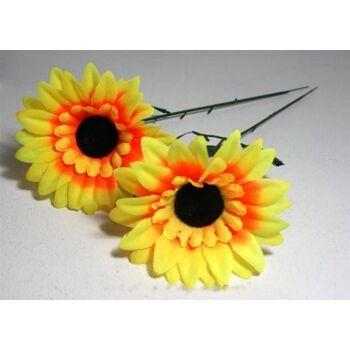 06-0755, Sonnenblume 38 cm, Sonnenblumen, Kunstblume, Dekoration