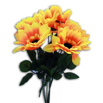 27-10603, Sonnenblume 42 cm, Kunstblume, Seidenblume, Dekoration