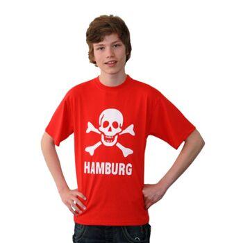 Da/ He T-Shirt Totenkopf
