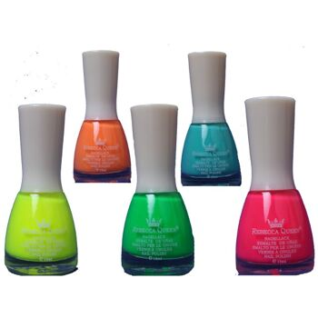 Nagellack Kosmetik Makeup Art Nail Polish Neon Sommer Maniküre in diversen Neonfarben für nur 0,99 Euro