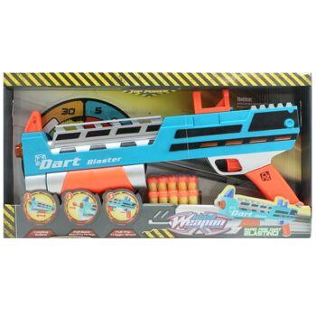 27-60301, Pump Gun 43 cm, mit 10 Softdarts, Gewehr mit Pfeilen, Pumpgun