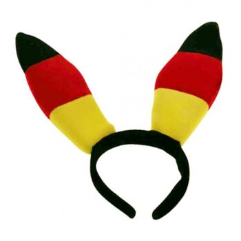Bunny Ohren Deutschland, BRD Farben, Hasenohren, Party, Event, Fussball Party, Event, Stadion Publicviewing Fanmile, usw