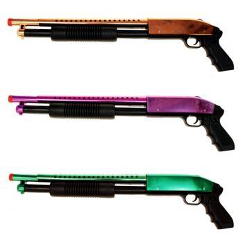 10-541219, Softair Gewehr Metallic Gunman PumpGun, große Reichweite, hochwertige Verarbeitung, ab 14 Jahren++++++