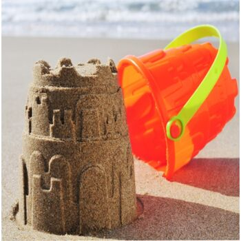 10-54219, STRANDSET 8-teilig, Sandspielzeug, 26 cm, Sandspielzeug, Sandkasten, Strand, Haus, Garten, Camping