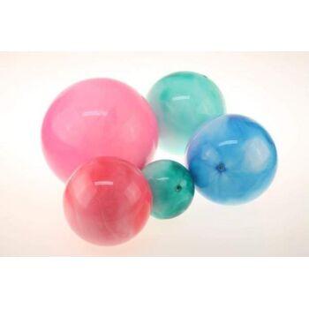 10-582812, PVC Marmorbälle 35 cm, Marmorball, Massageball, Spielball, Wasserball, Strandball, Fussball, Aufblasbar