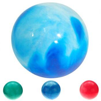 10-582813, PVC Marmorbälle 40 cm, Massageball, Spielball, Wasserball, Strandball, Fussball, Aufblasbar