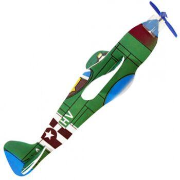 10-550800, Styropor Flieger, Flying Gliders, mit Propeller, Flugzeug, Flugzeuge