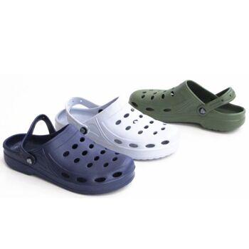 Herren Badeschlappen Slipper Badelatschen Flippers - für 3,90 Euro