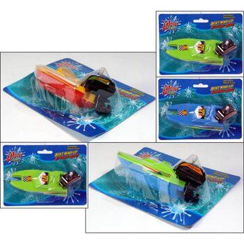 28-791944, Wasserspielzeug Boot mit Antrieb