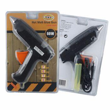 Heissklebepistole inkl. 2 Sticks Heißklebepistole Klebepistole 60 Watt