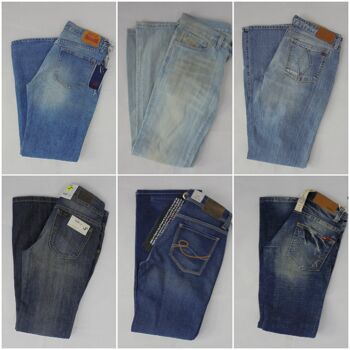 Jeans Mix Diesel, G-Star, Replay, Levis, Jack & Jones, LTB, Only, Vero Moda, Wrangler, Lee