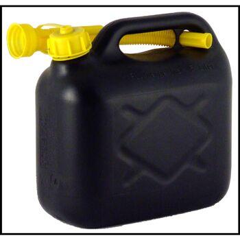 28-391908, Benzinkanister 10 Liter, schwarz, mit Einfüllstutzen