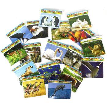 27-40049, Puzzle Spiel mit Tiermotiven, Kinderpuzzle