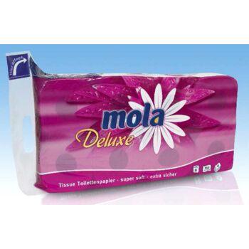 12-201881, Mola Deluxe 4lagig Toilettenpapier 8x150 Blatt, Dekor