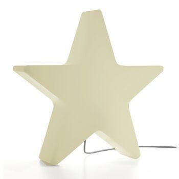 17-33313, XXXL Lampe Stern, weiß, Outdoor, 60 x 57 cm, für aussen, Dekoleuchte, Weihnachtsdeko usw