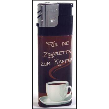 28-310017, Feuerzeug XXL, Kaffeepause, elektronisch, elektronik