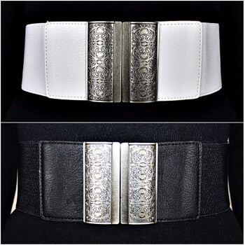 Vintage Stil Hüftgürtel Corsage Gürtel Taillengürtel Stretchgürtel Taille