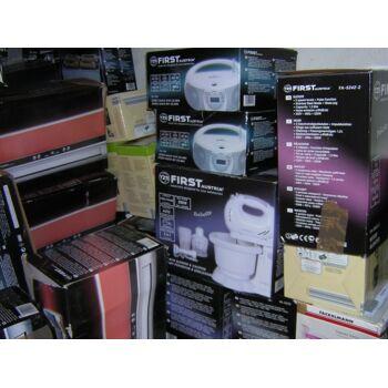 Restposten Discounter Lidl Aldi MIX Paletten elektr.Geräte Haushalt/ Multimedia Staubsauger Halogenoffen ESPRESSO Maschinen