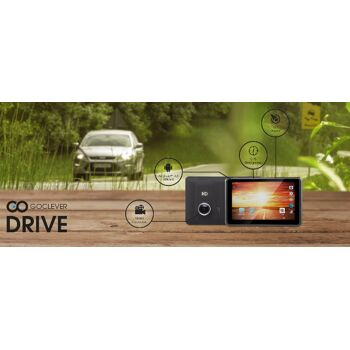 GoClever Drive 3in1 Autokamera mit Navigation und Android Tablet All-in-One