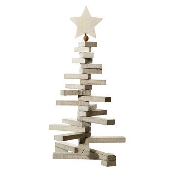 17-42953, Holz Deko Baum weihnachtlich,