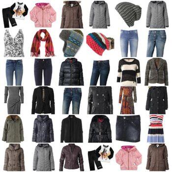 Tommy Hilfiger, Jack Wolfskin, Esprit, S.Oliver, Mexx, Marco Polo und Weitere Marken Bekleidung Mix Herbst Winter
