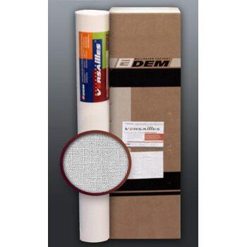 EDEM 301-60 Vliestapete überstreichbar dekorative Textil Struktur grobe Leinenstoff Optik weiß | 1 Kart. 4 Rollen 106 qm