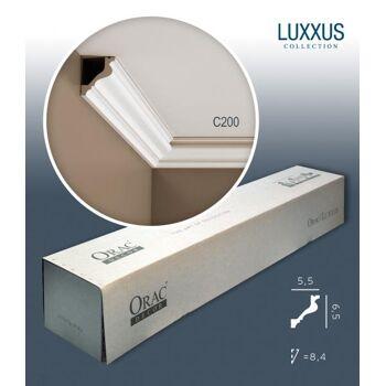 Orac Decor C200 LUXXUS 1 Karton SET mit 12 Eckleisten Stuckleisten | 24 m