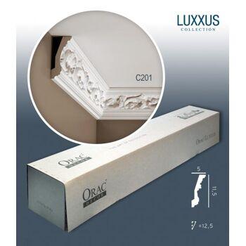 Orac Decor C201 LUXXUS 1 Karton SET mit 16 Eckleisten Stuckleisten | 32 m