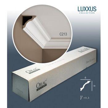 Orac Decor C213 LUXXUS 1 Karton SET mit 22 Eckleisten Stuckleisten | 44 m