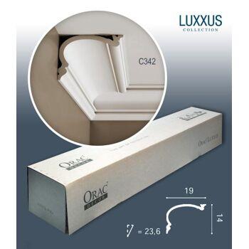 Orac Decor C342 LUXXUS 1 Karton SET 10 Stuckleisten | 20 m