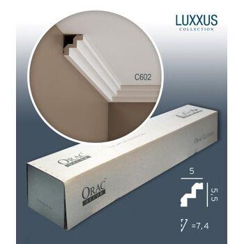 Orac Decor C602 LUXXUS 1 Karton SET mit 36 Stuckleisten | 72 m