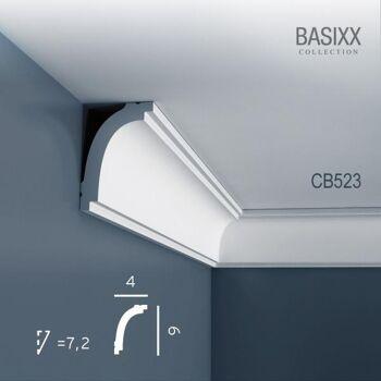 Orac Decor CB523 BASIXX 1 Karton SET mit 33 Stuckleisten   66 m