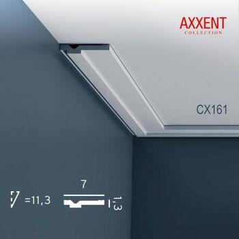 Orac Decor CX161 AXXENT 1 Karton SET mit 42 Eckleisten Stuckleisten | 84 m