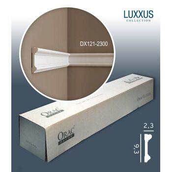Orac Decor DX121-2300 LUXXUS 1 Karton SET mit 16 Türumrandungen Wandleisten | 36,8 m