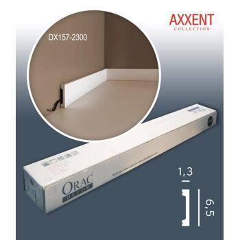 Orac Decor DX157-2300 AXXENT 1 Karton SET mit 27 Türumrandungen Wandleisten | 62,1 m