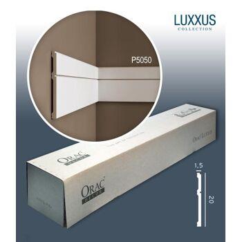 Orac Decor P5050 LUXXUS 1 Karton SET mit 12 Wandleisten Zierleisten | 24 m