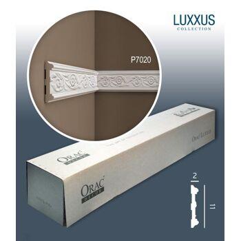 Orac Decor P7020 LUXXUS 1 Karton SET mit 10 Wandleisten Zierleisten | 20 m