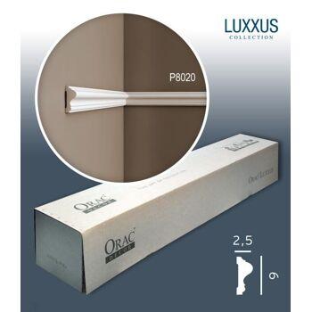Orac Decor P8020 LUXXUS 1 Karton SET mit 20 Wandleisten Zierleisten | 40 m