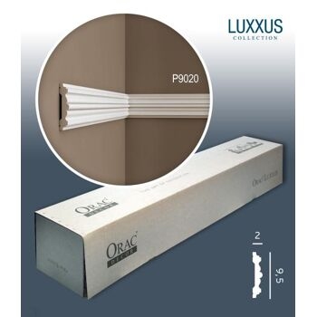 Orac Decor P9020 LUXXUS 1 Karton SET mit 10 Wandleisten Zierleisten | 20 m