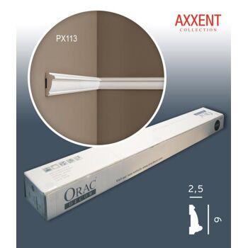 Orac Decor PX113 AXXENT 1 Karton SET mit 30 Wandleisten Zierleisten | 60 m