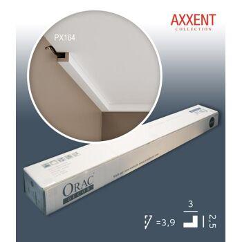 Orac Decor PX164 AXXENT 1 Karton SET mit 55 Wandleisten Zierleisten | 110 m