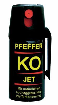 BALLISTOL Pfefferspray KO Jet 40ml Weitstrahlspray Tierabwehrspray  MHD-Posten