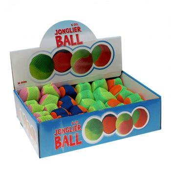 10-642040, Kickball Jonglierball 6 cm, Sportball, Hacky Sack Ball, Spielball, Wurfball, Wasserball, Spielball, Hacky Sack Ball