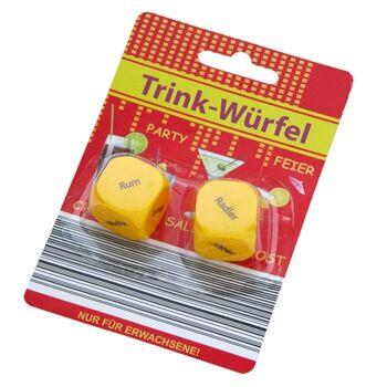 12-1102121, Trinkwürfel 2er Set, Trinkspiel++++++