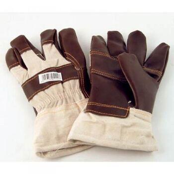 12-805004, dicke Leder Arbeitshandschuhe EN420&EN388, Handwerkzeug, Möbelpolster, Rindsleder
