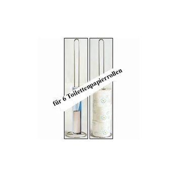 28-884516, Toilettenpapierhalter Chrom, für 6 Toilettenpapierrollen